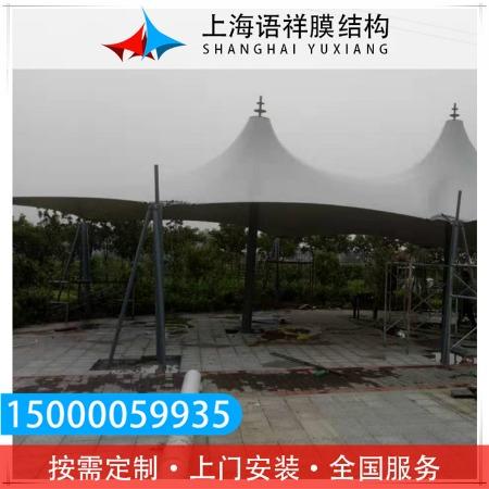 上海语祥铝合金遮雨棚  小区景观棚 结构牢固 质量优良