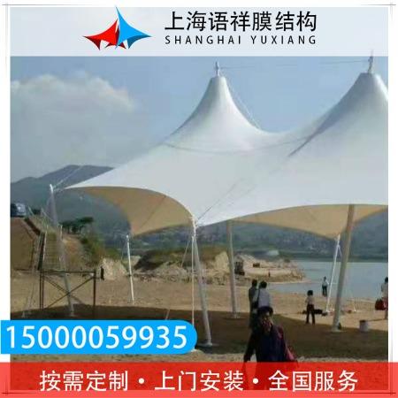 小区遮雨景观棚 景观车辆停车棚  上海语祥 不二之选 安全可靠