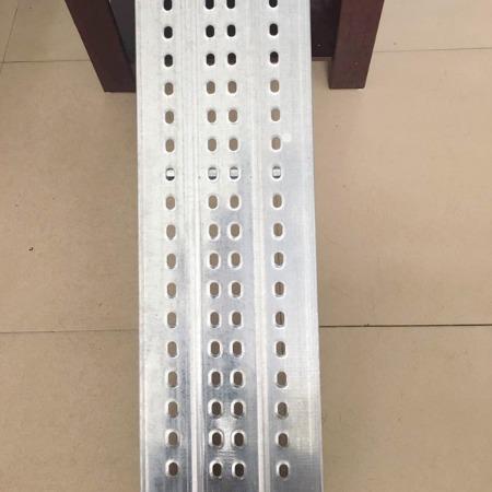 河南防腐保温工程专用镀锌踏板-电厂专用防火钢跳板