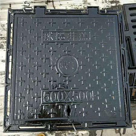 厂家直销 防沉降井盖 球墨铸铁井盖 球墨铸铁双层井盖 污水井盖篦子