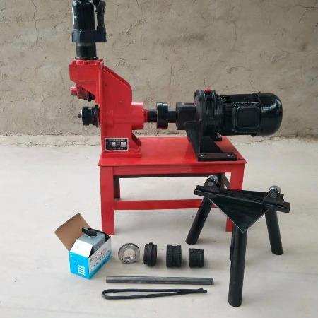 消防管道压槽机 液压滚槽机   219型沟槽机多少钱