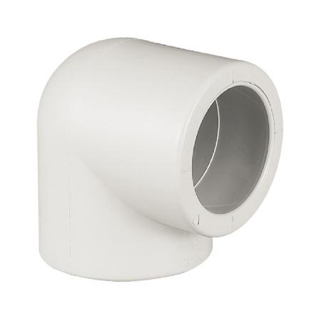 联塑 90°弯头(PP-R 配件) 白色/灰色   湖南联塑总代理