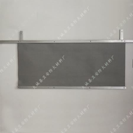 挡烟垂壁防火布,挡烟垂壁安装方法图片