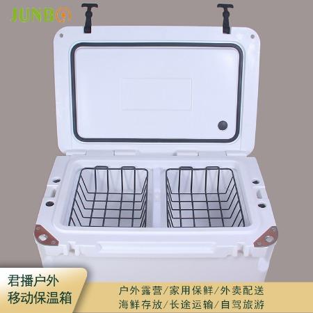上海Junbo/君播厂家现货 75升冷藏箱 移动出游保温箱 盒饭保温箱 持久保温量大从优
