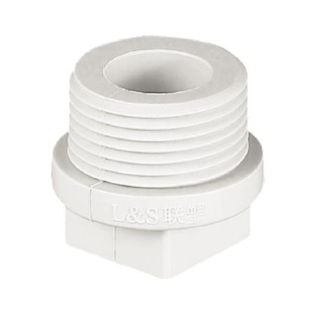 联塑 螺纹堵头(PP-R 配件) 白色/灰色   湖南联塑总代理
