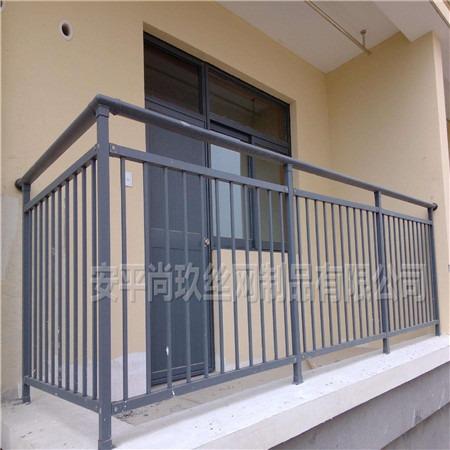阳台护栏 尚玖定做小区阳台护栏 真实厂家价格优势