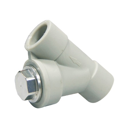 联塑 过滤器(PP-R 配件) 白色/灰色   湖南联塑总代理