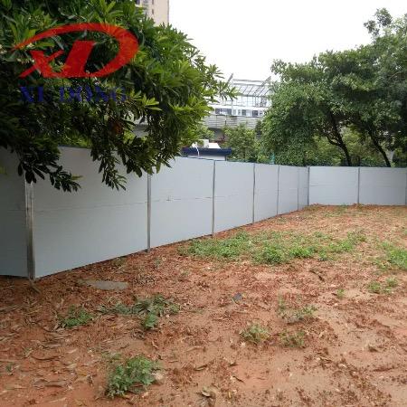 彩钢板围墙,深圳钢结构围挡A类,旭东钢构