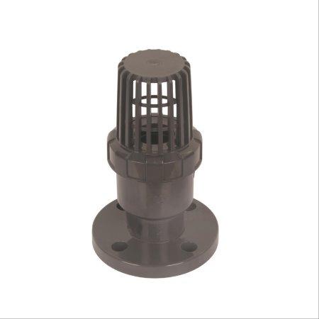 常州旭腾塑业专业生产PVC法兰式底阀规格齐全