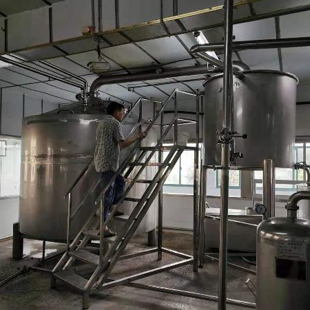 酿酒设备全自动白酒生产设备  全自动白酒生产线汉吉酿酒设备厂家
