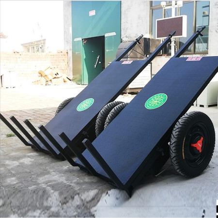 平板自卸拉砖车 工地电动拉砖车 手推平板车 三轮灰斗车 厂家直销