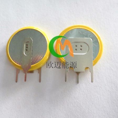 CR2032带焊脚电池3V焊脚电池