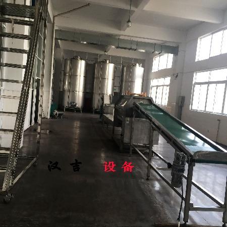 水果加工设备  输送带 汉吉 水果分拣输送线  生产厂家