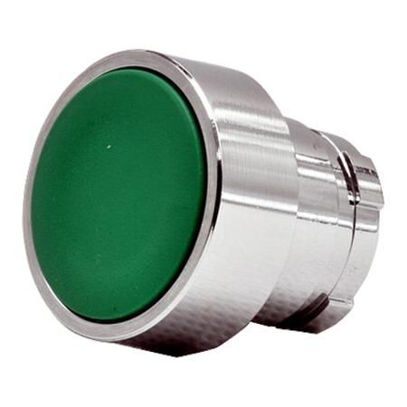 施耐德按钮指示灯   XB2B系列复位按钮头(平头) ZB2BA3C  平头按钮头 绿色