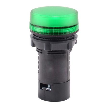 施耐德按钮指示灯   LED型指示灯 XB2BVB3LC 绿色 24VA  绿色按钮指示灯 24V