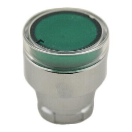 施耐德按钮指示灯  复位型 按钮指示装置附件 ZB2BW33C 带灯按钮头绿色