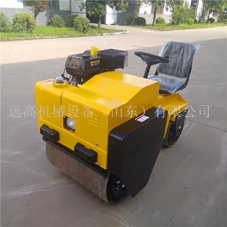 小座驾压路机 YG-700方向盘式压土机简单好操作