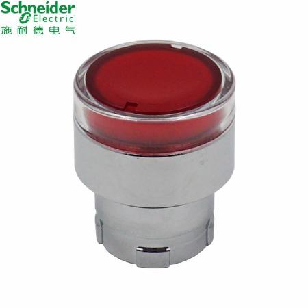 施耐德按钮指示灯   XB2B系列带灯按钮头;ZB2BW34C   带灯按钮头红色