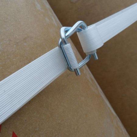 聚酯纤维打包带专用打包扣钢丝回型扣回型打包扣13mm