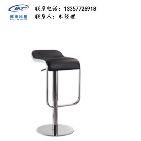 北欧休闲铁艺吧椅 创意简易型酒吧 实木吧椅 高脚凳定制 卓文办公家具休闲吧椅 YZ-02
