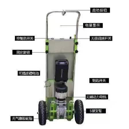 厂家直销新型电动载物爬楼机自动搬运上楼机电动载物爬楼机价格