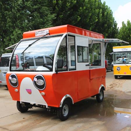 厂家直销多功能移动售货车 流动汉堡餐车 奶茶美食小吃车 新能源餐车