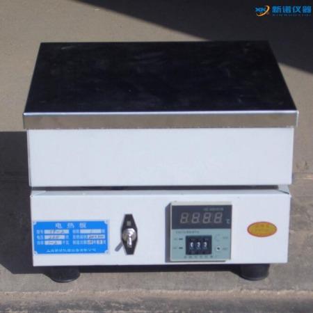 -新诺-电热板 TP-3A型 数显不锈钢电热板 不锈钢预热板 400*250电热板 数显温度控制精准