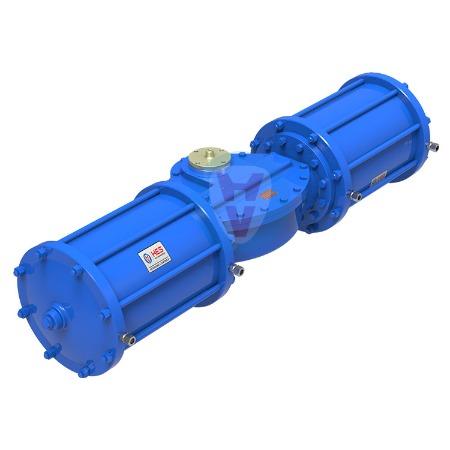 华尔士_批产直销AW系列气动执行器大尺寸缸体执行器支持客户定制批发 闪电发货厂家制造