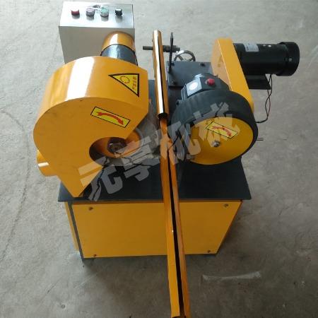 小型全自动无心圆管外圆抛光机台式外圆除锈抛光机