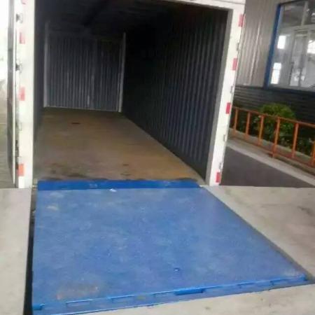 超瑞机械定制装卸货货物固定登车桥  8吨 10吨 货物升降调节板 登车桥