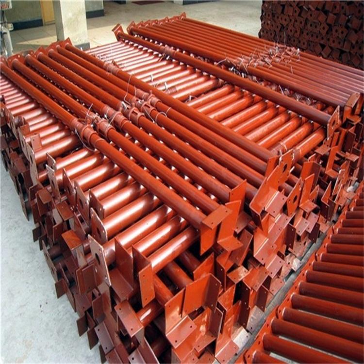 建筑钢支撑 厂家现货供应可调节钢支撑 镀锌钢支撑   喷漆钢支撑 批发钢支撑