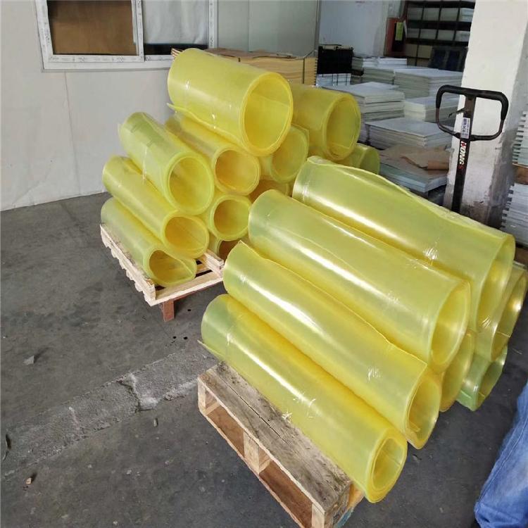 优越厂家直销PU棒板 优力胶棒 牛筋棒 减震高耐磨优力胶棒 聚氨酯板 弹性橡胶棒 PU管