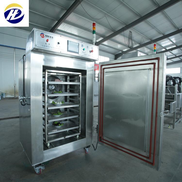 HDSD-400柜式液氮速冻机 单冻机 惠鼎厂家现货 急速冷冻柜 保鲜效果好