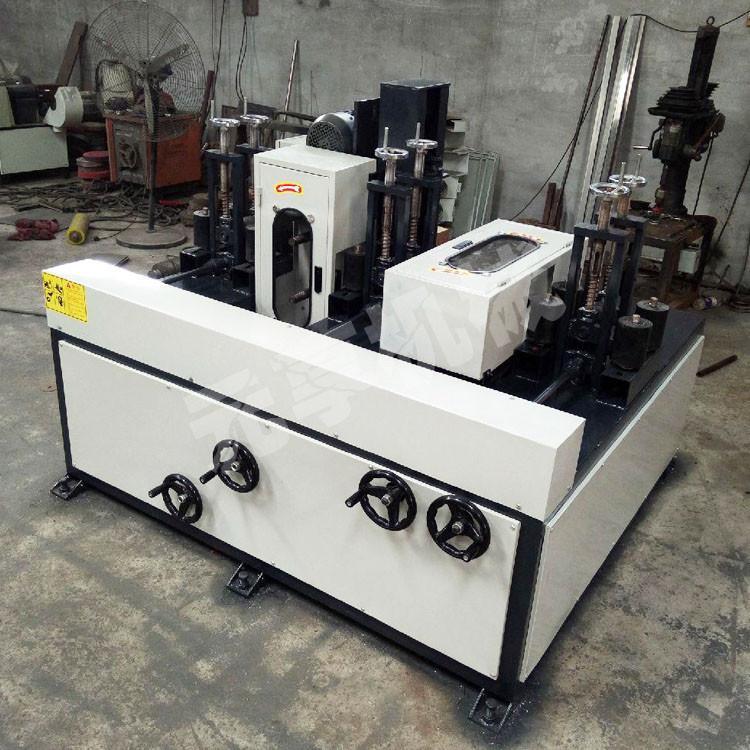 方管抛光机不锈钢扁钢拉丝机供应直销新型扁钢角铁除锈抛光机