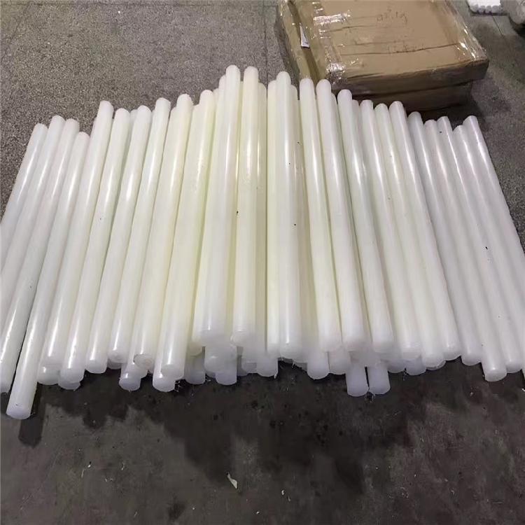德国进口PVDF板 聚二偏氟乙烯棒 白色PVDF棒 耐高强度酸碱PVDF棒 PVDF棒板加工零切