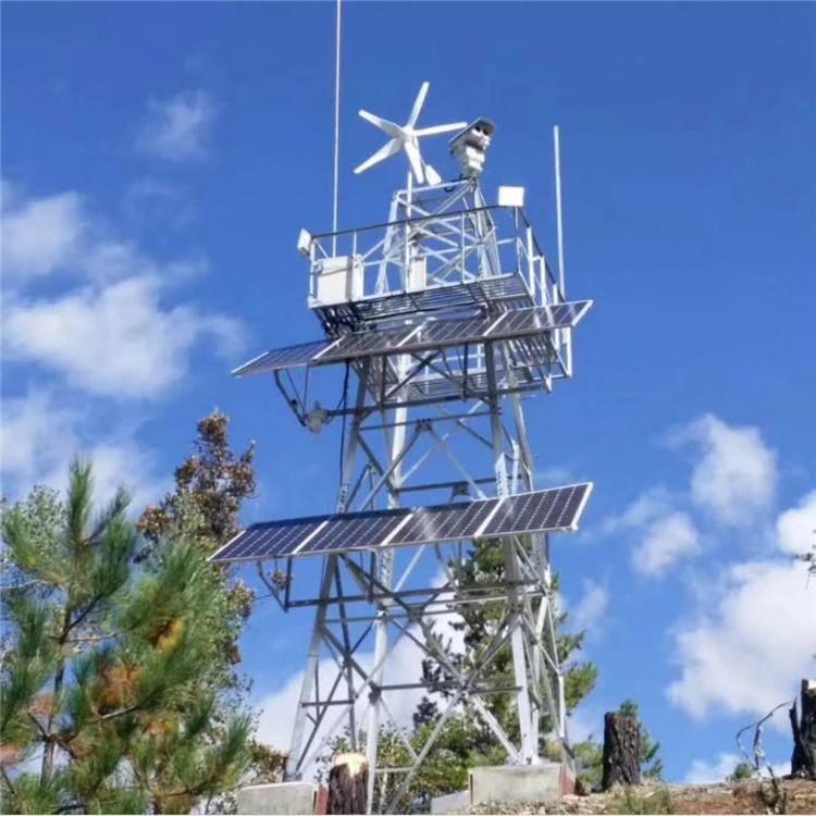 常通铁塔供应森林防火监控塔 监控塔生产厂家