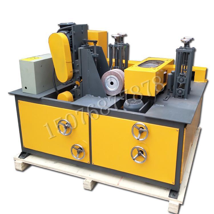 方管除锈机 小型方管除锈机环保全封闭方管除锈抛光机厂家