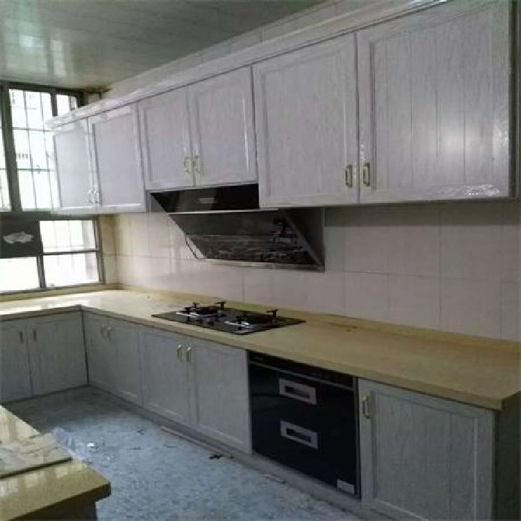 南京定制全铝厨房整体橱柜    石英石台面整体橱柜价格和效果怎样