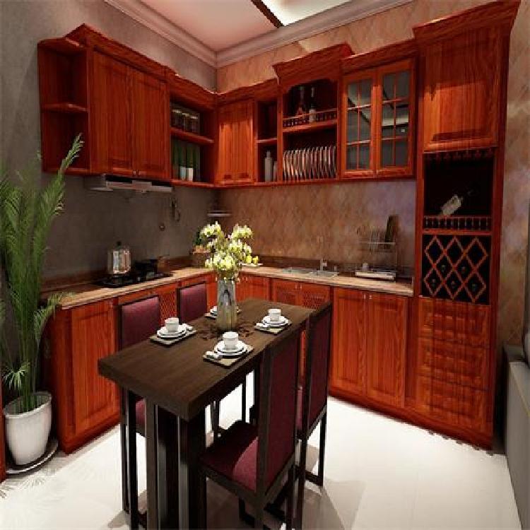 南京定制全铝厨房整体橱柜  石英石台面价格和效果怎样