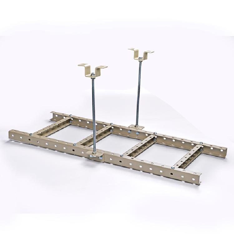 实足2.0厚度 400宽 U型钢走线架 机房通信布线走线 机房爬梯