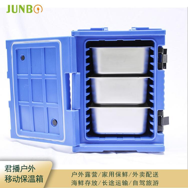 上海Junbo/君播厂家直销 食热送餐箱 周转箱 盒饭保温箱 盒饭周转箱 低价促销