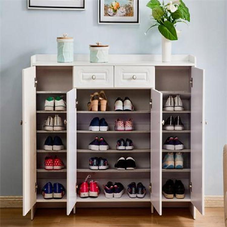 多功能鞋柜组合柜的材质  南京  酷派厂价定做实木进门鞋柜组合柜