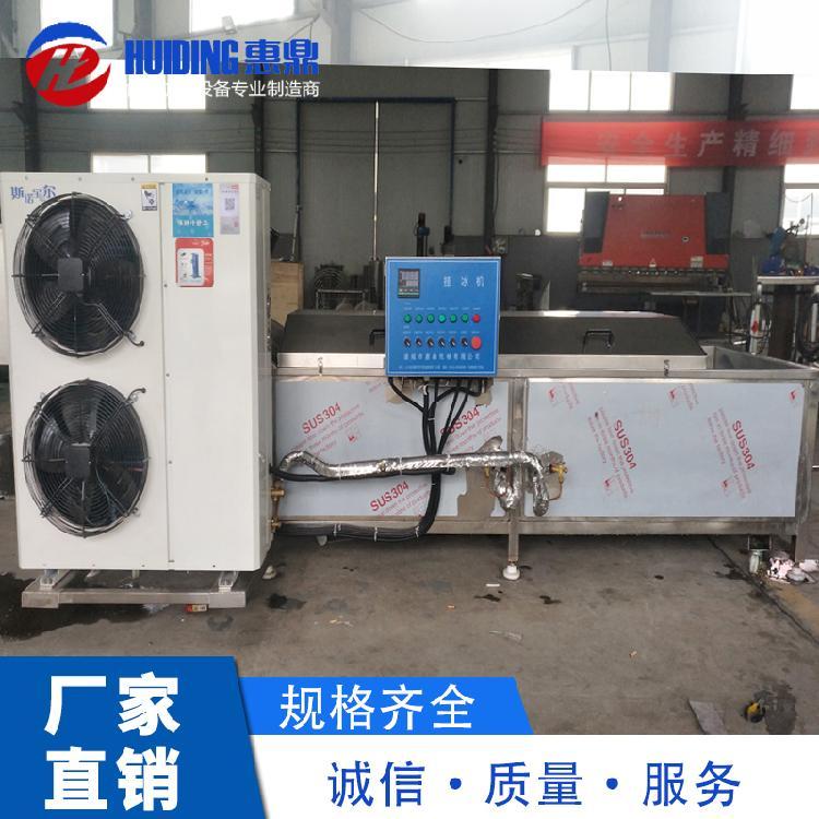 水产品鱼虾挂冰机 鱼片包冰衣机 小龙虾冷水挂冰机厂家