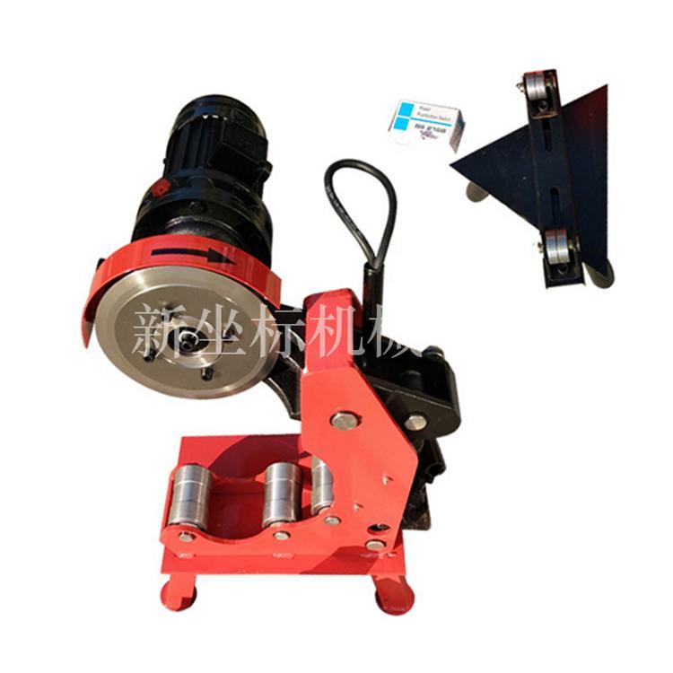 消防管切管机   圆管切割机视频  380V镀锌管割管机