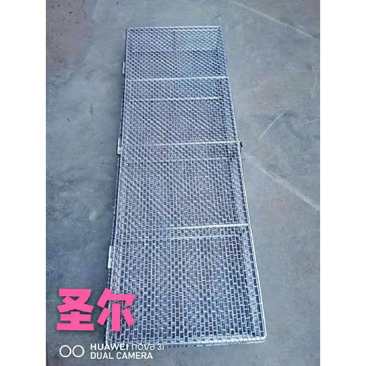 不锈钢长方形消毒筐 不锈钢消毒筐 器械清洗网篮医疗科室灭菌网筐