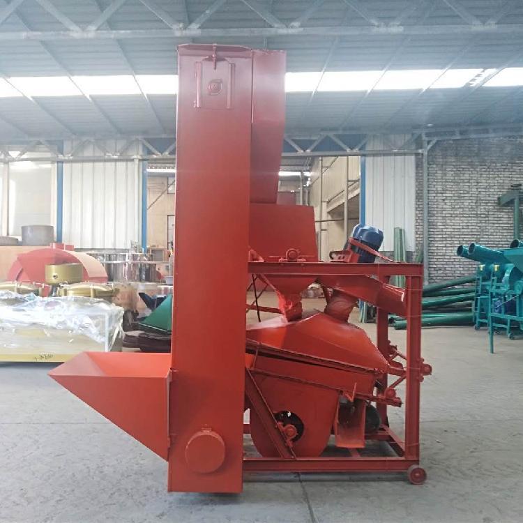 大型花生剥壳机厂家 产量大效率高 大型带自动上料花生脱壳机械