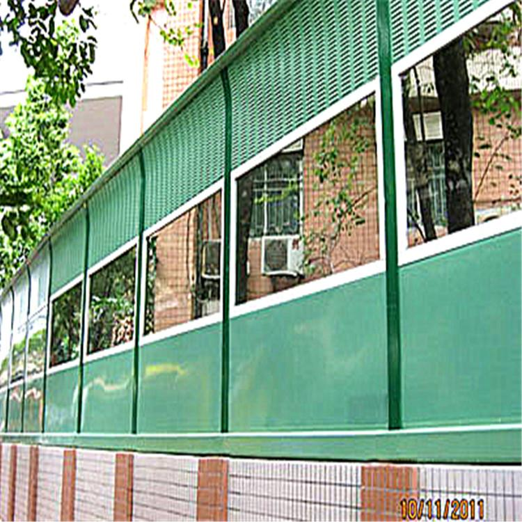 宏江公司高速 高架桥 桥梁 厂区 铁路 小区声屏障 隔音屏 降噪墙制造