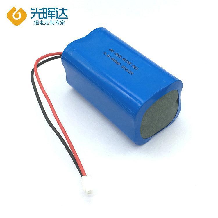 厂家优质供应锂电池14.8V 2000mAH优质串联锂电池 厂家生产加工