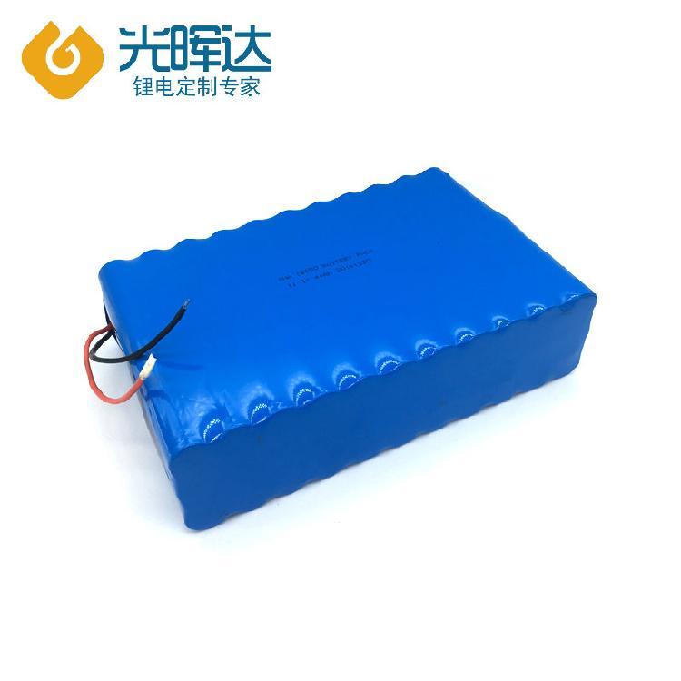 11.1V 44Ah18650三元锂电池厂家生产 锂电池组串联并联生产厂商供应