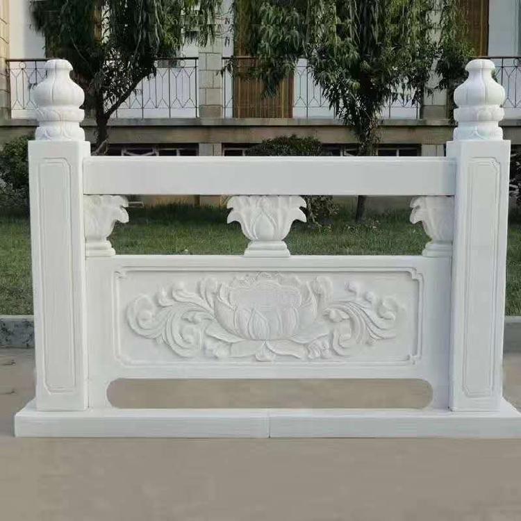 玉祥石业优质石栏杆 大理石护栏 栏杆价格 厂家批发定制